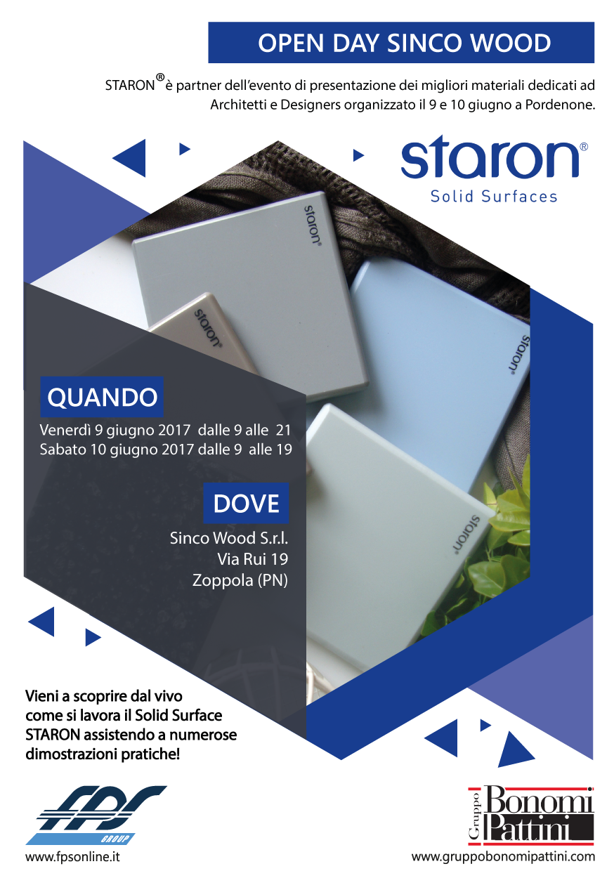 Invito Staron Evento Sinco